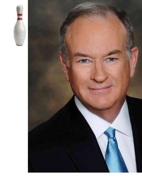 "Bill O'Reilly Takes Long, Hard Look at Himself in Mirror in Bowling Alley Bathroom. Stops Calling People ""Pinheads."""